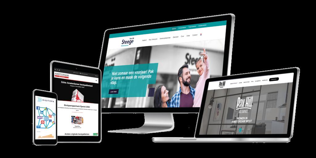 Nieuwe website met bedrijf Digitopa